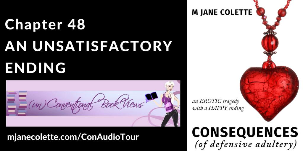 Blogtour Audiobook Consequences - M. Jane Colette