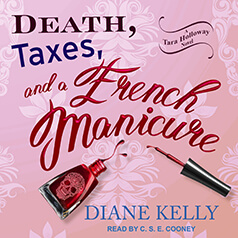 Death Taxes and a French Manicure audiocover - (un)Conventional Bookviews - Weekend Wrap-up