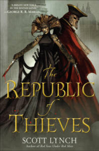 The Republic of Thieves cover - (un)Conventional Bookviews
