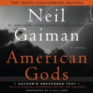 American Gods auidiocover - (un)Conventional Bookworms - Weekend Wrap-up