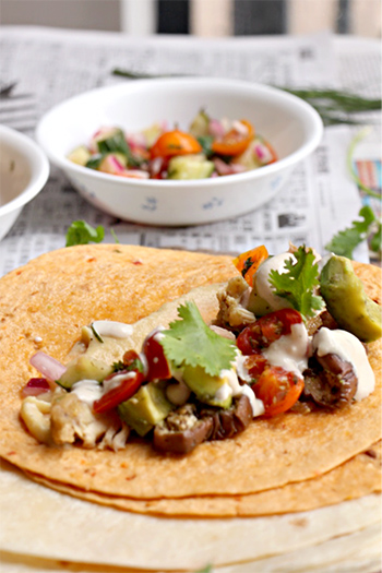Ottolenghi's Chicken Shawarma with Vegan Ranch Dressing + Garlic Hummus (Paleo, GF, DF)