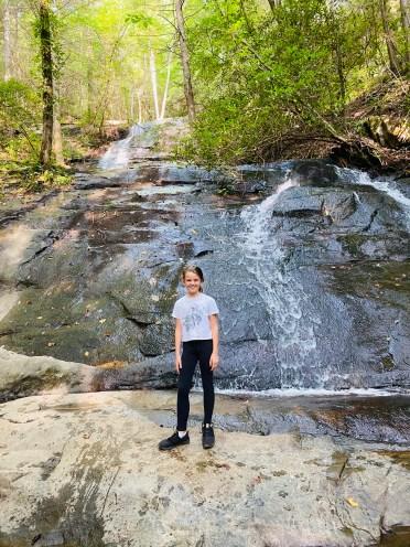 Base of Fall Branch Falls
