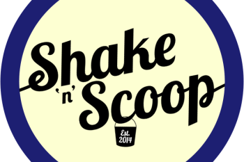 shake 'n' scoop logo
