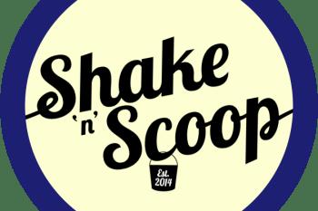 shake 'n' scoop logo