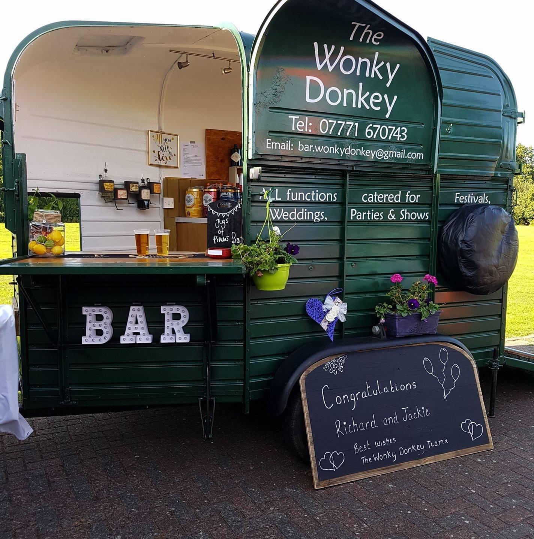 Wonky Donkey Bar 2 - outdoor bar for wedding day