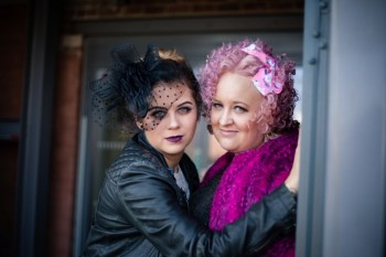 My Pretties UK - Wedding couple - Rachel and Danni - alternative wedding