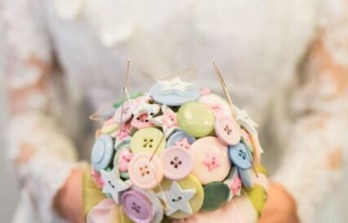 Bouquet Chic Unique 7 - artificial bouquet - wedding