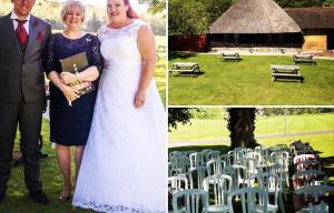 Yvonne Beck celebrant - Kent Wedding