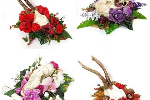 Ossaflores 5 - alternative wedding table centrepieces