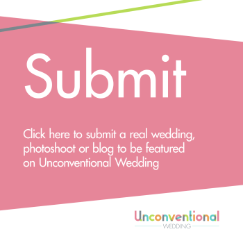 Submit a blog, real wedding or photoshoot to Unconventional Wedding Alternative Wedding Directory and Blog