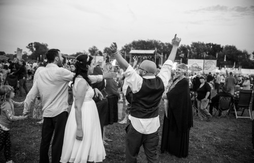 Nick Brightman Photography  6 - Sunshine Festival Wedding Party