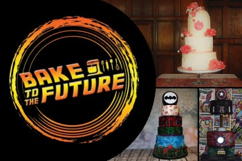 Bake to the future highlights - alternative wedding cakes - unconventional wedding cakes - comic book wedding cakes