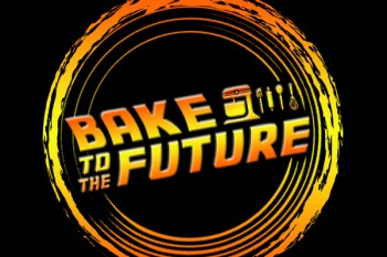 Bake to the future logo