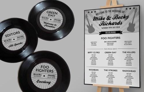 Made by Rae designs - festival wedding - alternative wedding stationery