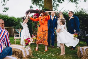 Cariad personal ceremonies- jumping the broom ceremony