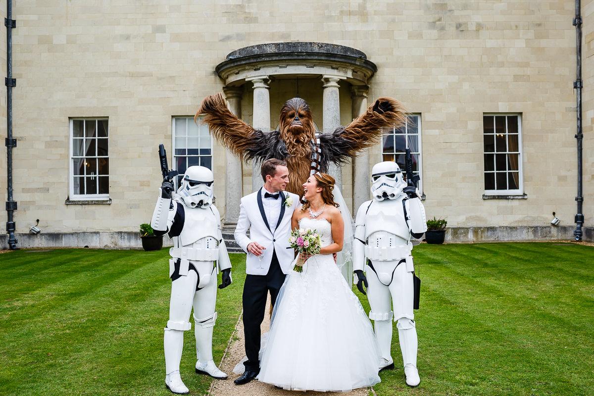 Star wars wedding - alternative wedding - unconventional wedding 1