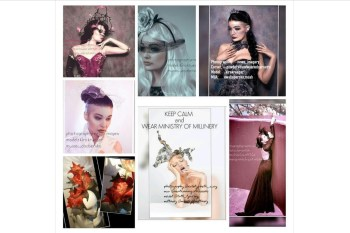 Ministry of Millinery 10 - alternative wedding milliinery