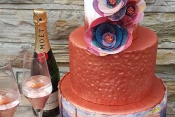 Urban Wedding Company - Distinctive, stylish, art-led wedding cakes - alternative - word swap