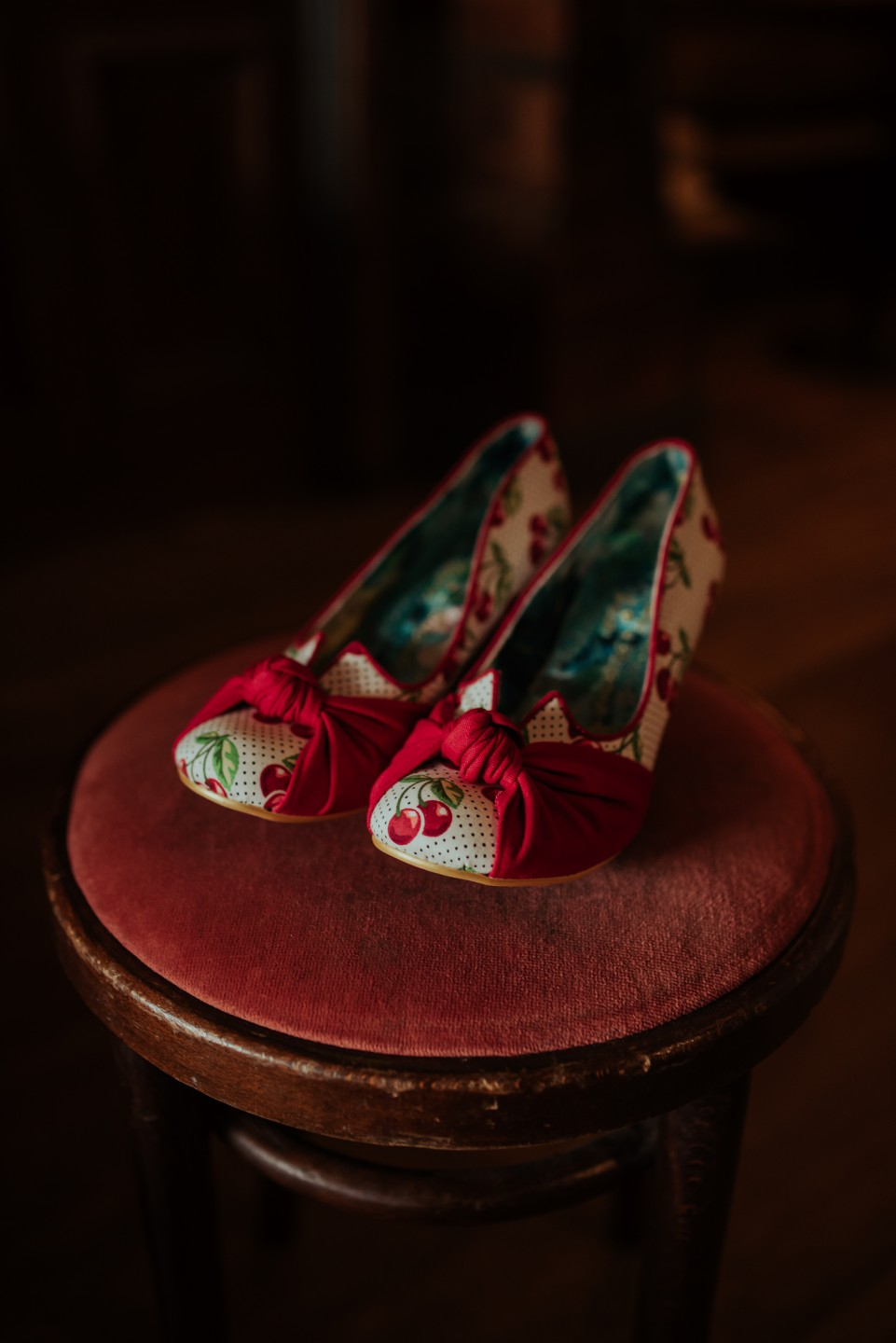 A Twin Peaks Wedding Styled Shoot - alternative - unconventional - shoes