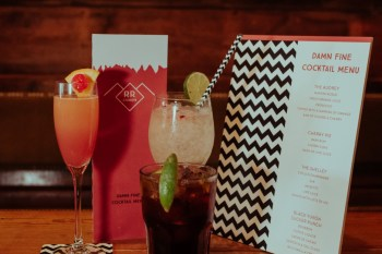 A Twin Peaks Wedding Styled Shoot - alternative - unconventional - cocktail menu