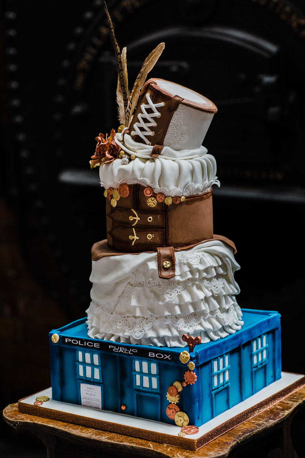 Doctor Who Wedding Inspiration At Papplewick Pumping Station