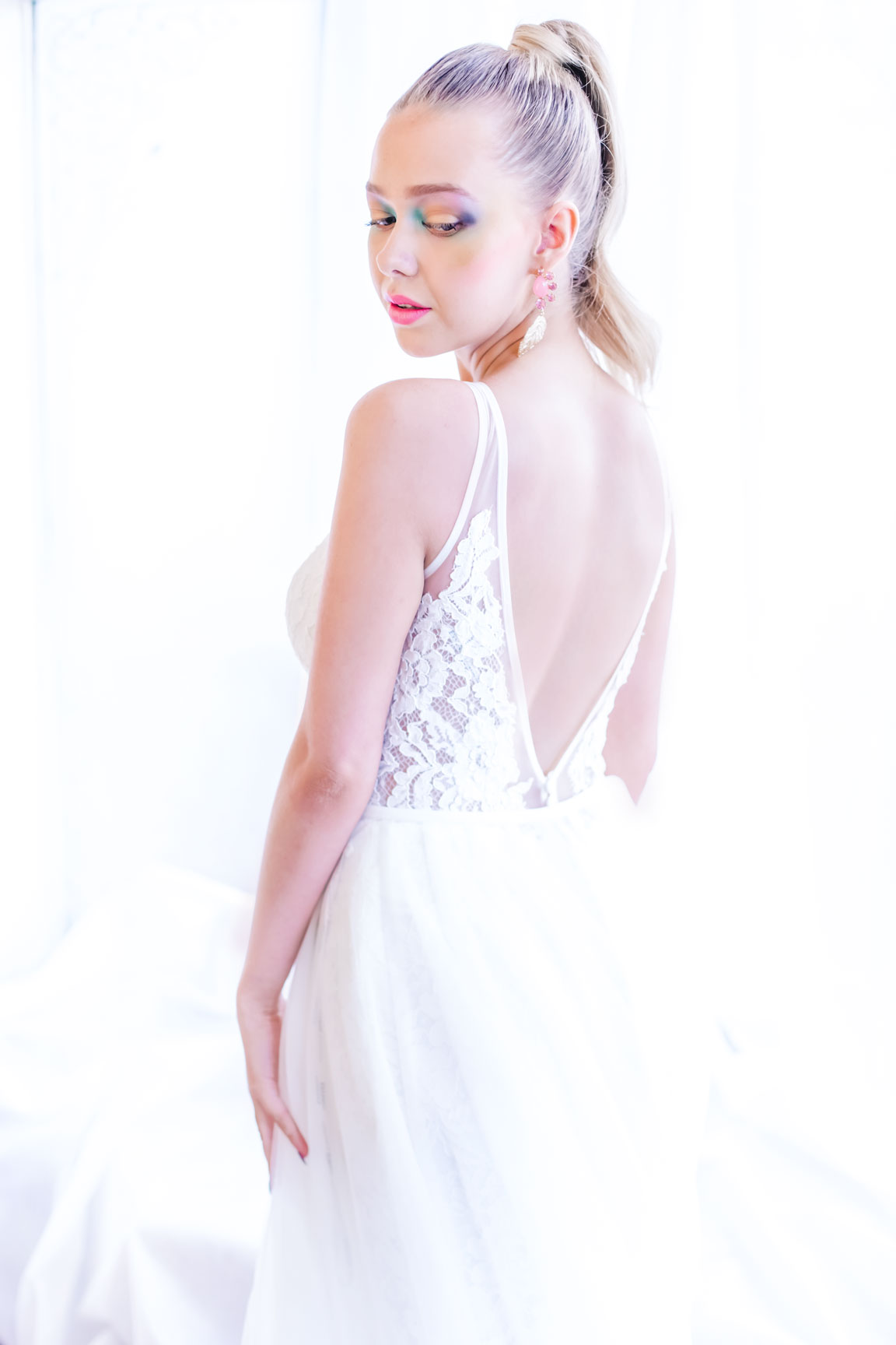 May & Grace Bridal - 3 alternative bridal looks 1 - modern bride