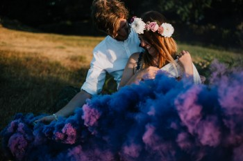 Caroline Goosey - alternative wedding photography - engagement shoot 12