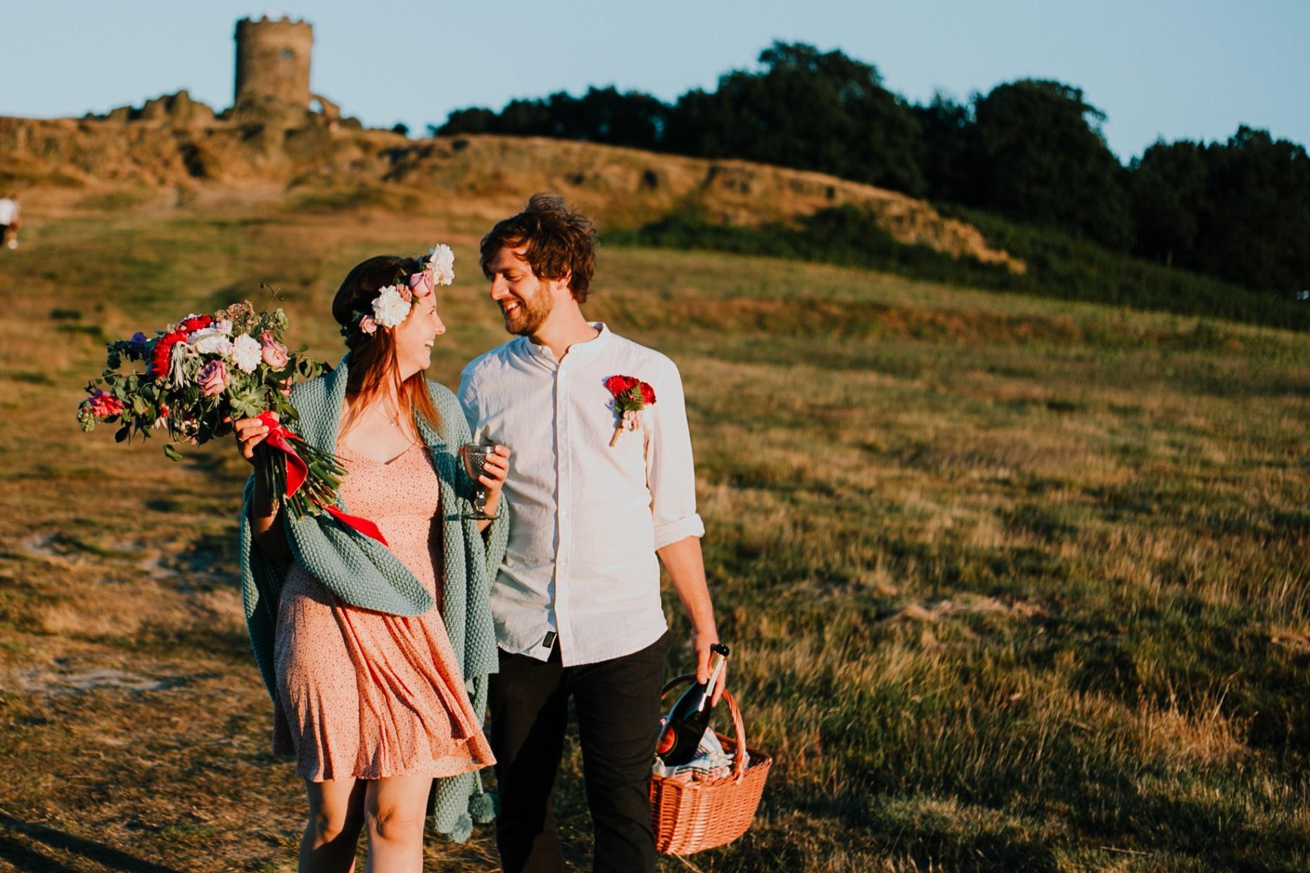Caroline Goosey - alternative wedding photography - engagement shoot 16