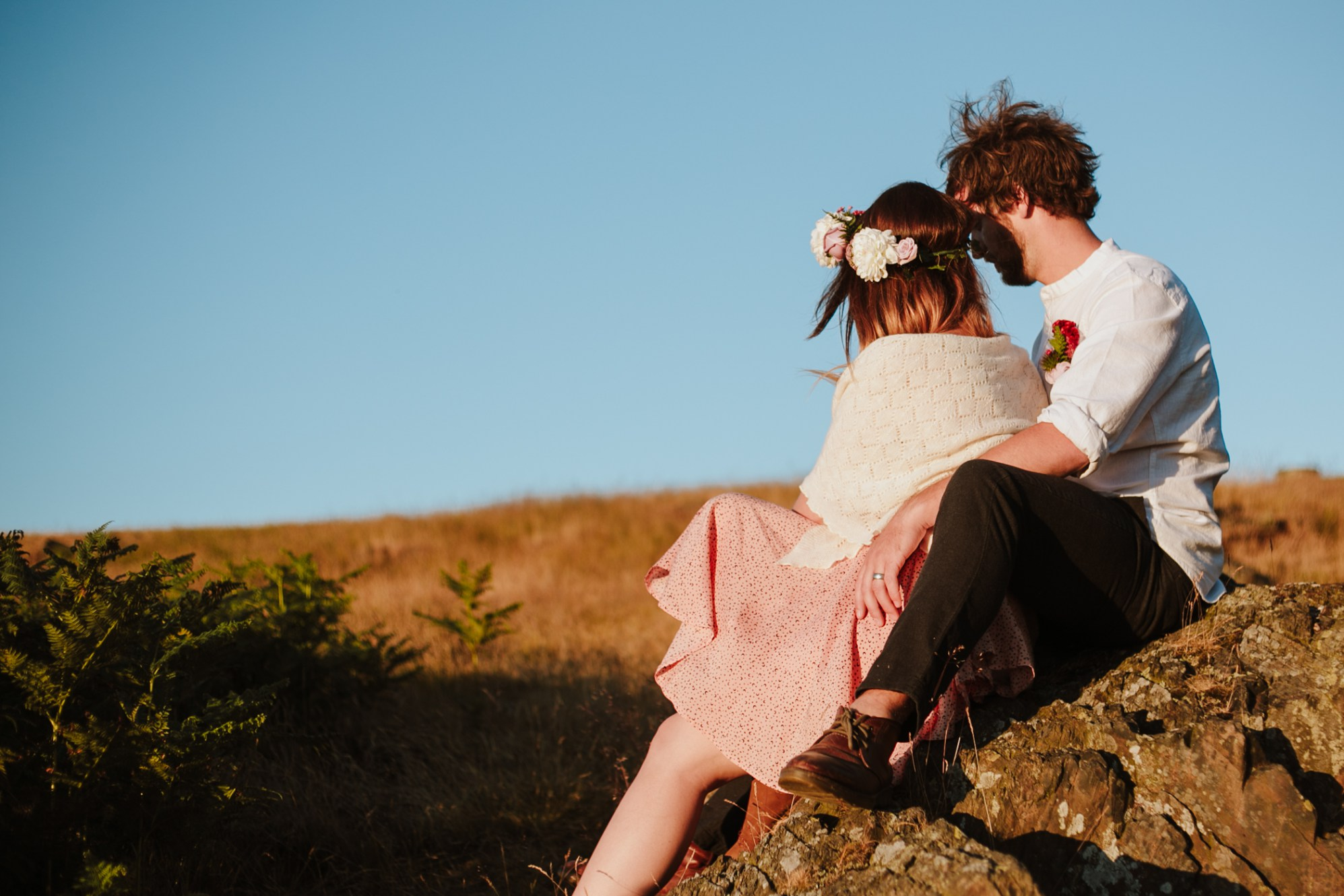 Caroline Goosey - alternative wedding photography - engagement shoot 20