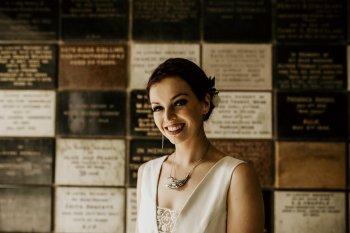 Chloe Mary Photography - Babes with the Power wedding - Rebel Rebel - Alternative wedding - Gothic wedding 410