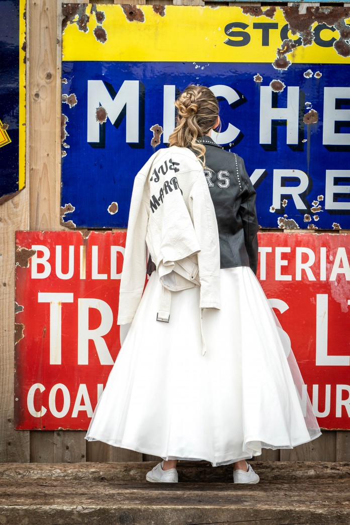 Bridal Reloved Street - Reclamation Yard Wedding Styled Shoot - Photos by Jim - 23