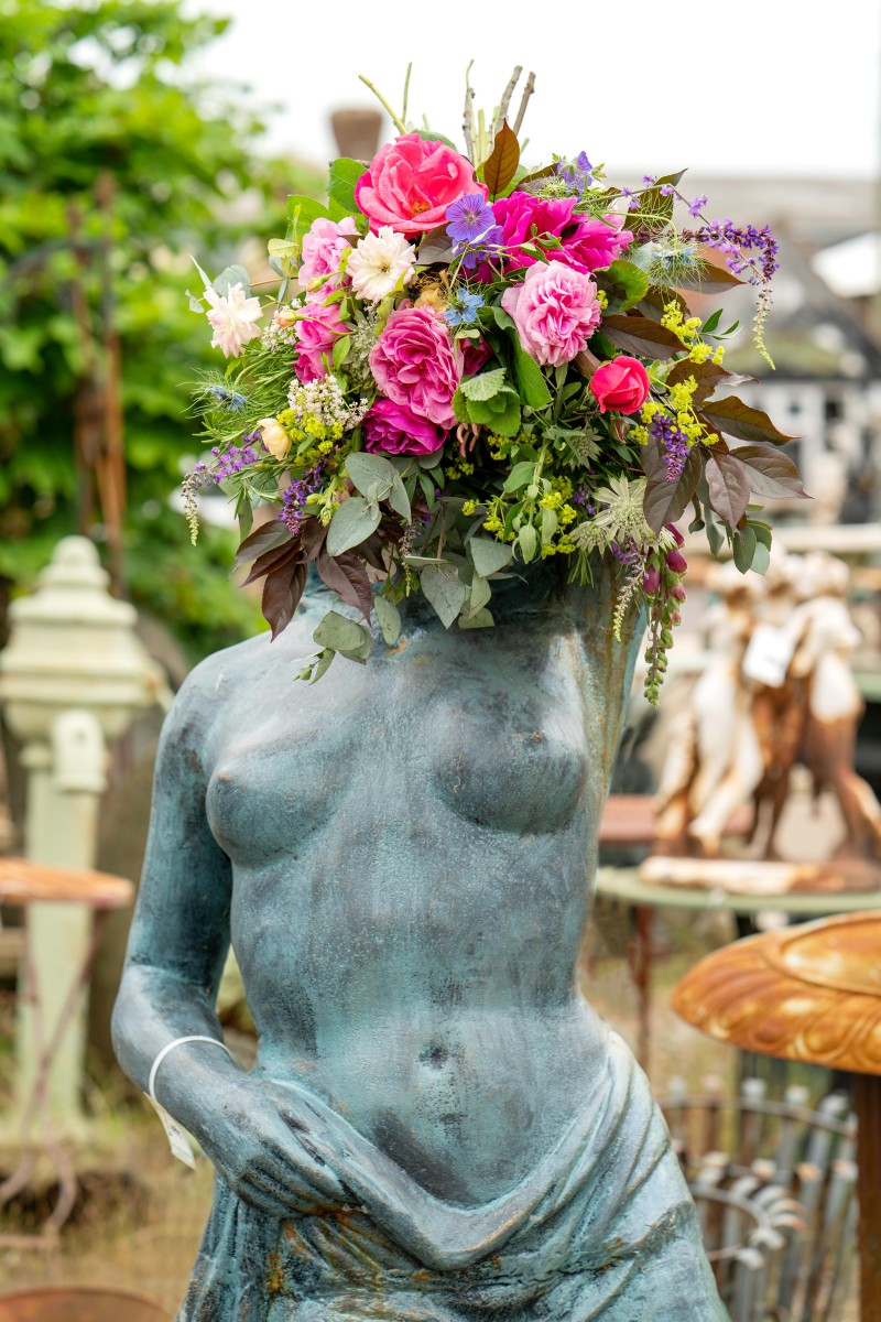 Bridal Reloved Street - Reclamation Yard Wedding Styled Shoot - Photos by Jim - 32