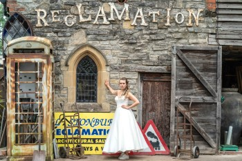 Bridal Reloved Street - Reclamation Yard Wedding Styled Shoot - Photos by Jim - 8