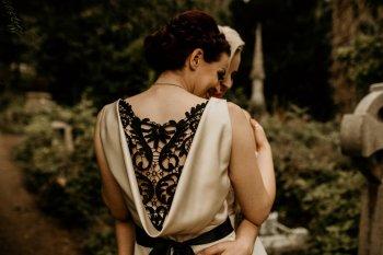 Chloe Mary Photography - Babes with the Power wedding - Rebel Rebel - Alternative wedding - Gothic wedding 13