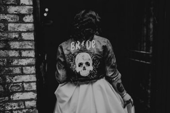 Chloe Mary Photography - Babes with the Power wedding - Rebel Rebel - Alternative wedding - Gothic wedding 26