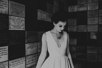 Chloe Mary Photography - Babes with the Power wedding - Rebel Rebel - Alternative wedding - Gothic wedding 30