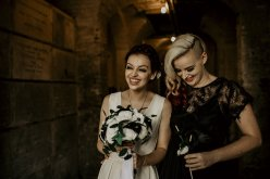 Chloe Mary Photography - Babes with the Power wedding- Rebel Rebel - Alternative wedding - Gothic wedding 31