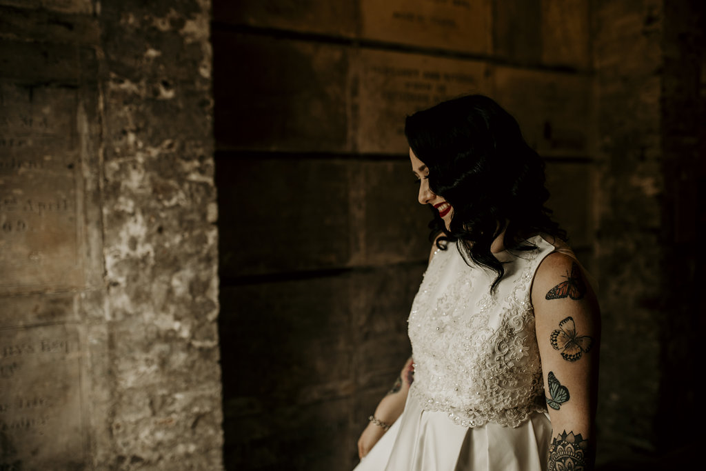 Chloe Mary Photography - Babes with the Power wedding - Rebel Rebel - Alternative wedding - Gothic wedding 51
