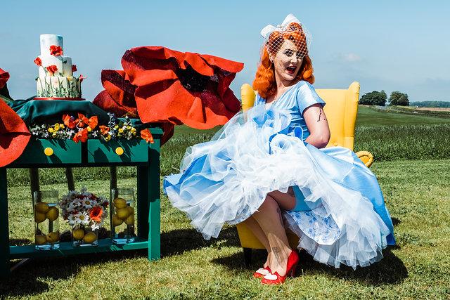 My Pretties - Dorothy - Wizard of Oz wedding styled shoot - Kieran Paul Photography 20 (2)