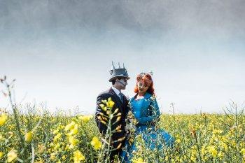 My Pretties - Dorothy - Wizard of Oz wedding styled shoot - Kieran Paul Photography 26