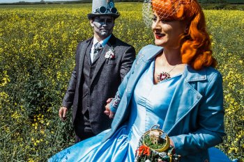 My Pretties - Dorothy - Wizard of Oz wedding styled shoot - Kieran Paul Photography 28