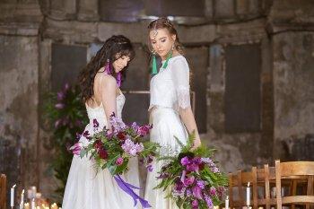 Rock the Purple Love - Gido Weddings - The Asylum Chapel - alternative wedding inspiration 117 - Urban, modern wedding