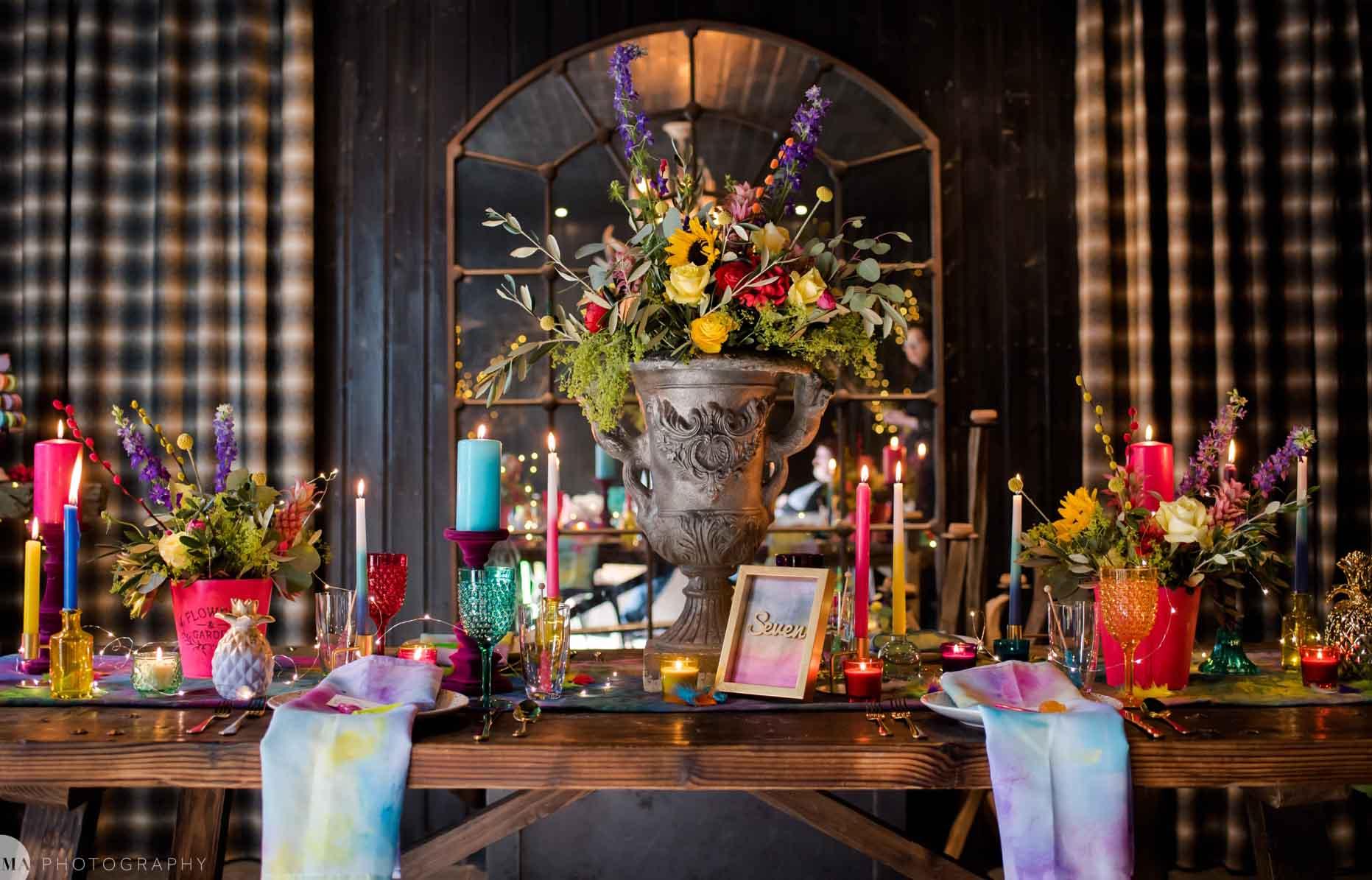 1. The Wedding Alchemist - alternative wedding styling - unconventional wedding