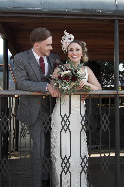 Iso Elegant Photography - Leicester wedding network - Railway wedding - vintage wedding 10