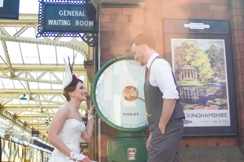Iso Elegant Photography - Leicester wedding network - Railway wedding - vintage wedding 12