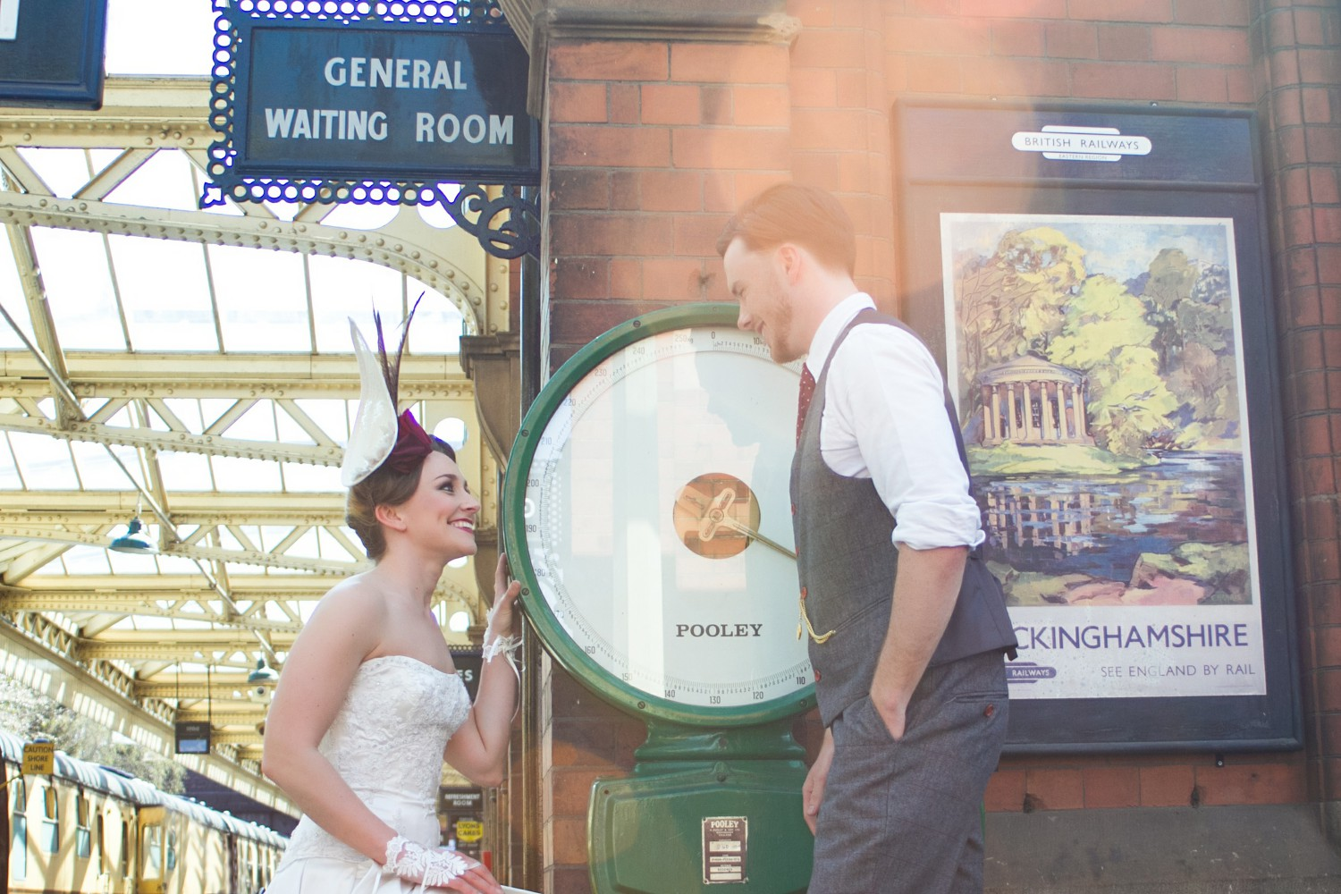 Iso Elegant Photography - Leicester wedding network - Railway wedding - vintage wedding 12