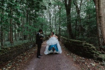 Stevie Jay photography - Unconventional Wedding at Storthes Hall Huddersfield - alternative wedding 1 (2)