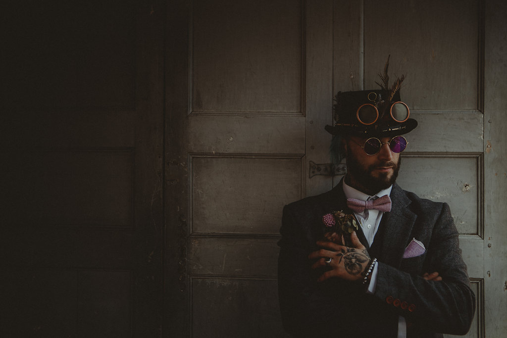 Studio Fotografico Bacci - Steampunk wedding - alternative wedding 11