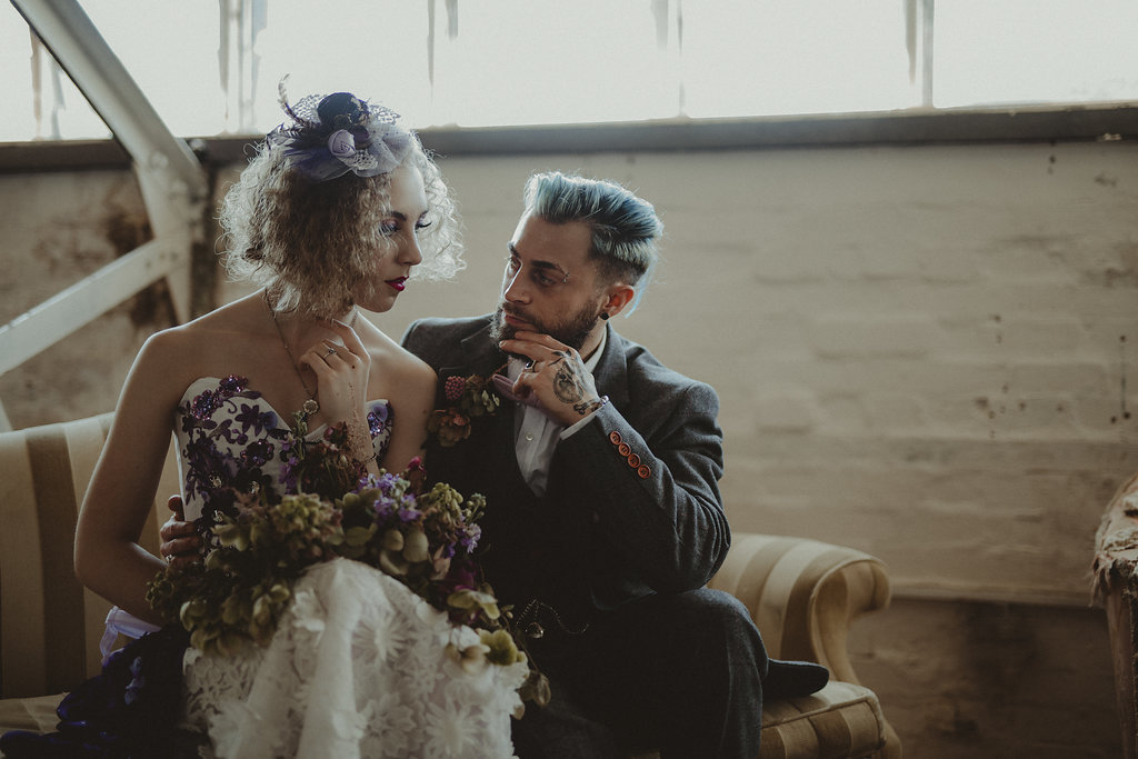 Studio Fotografico Bacci - Steampunk wedding - alternative wedding 16
