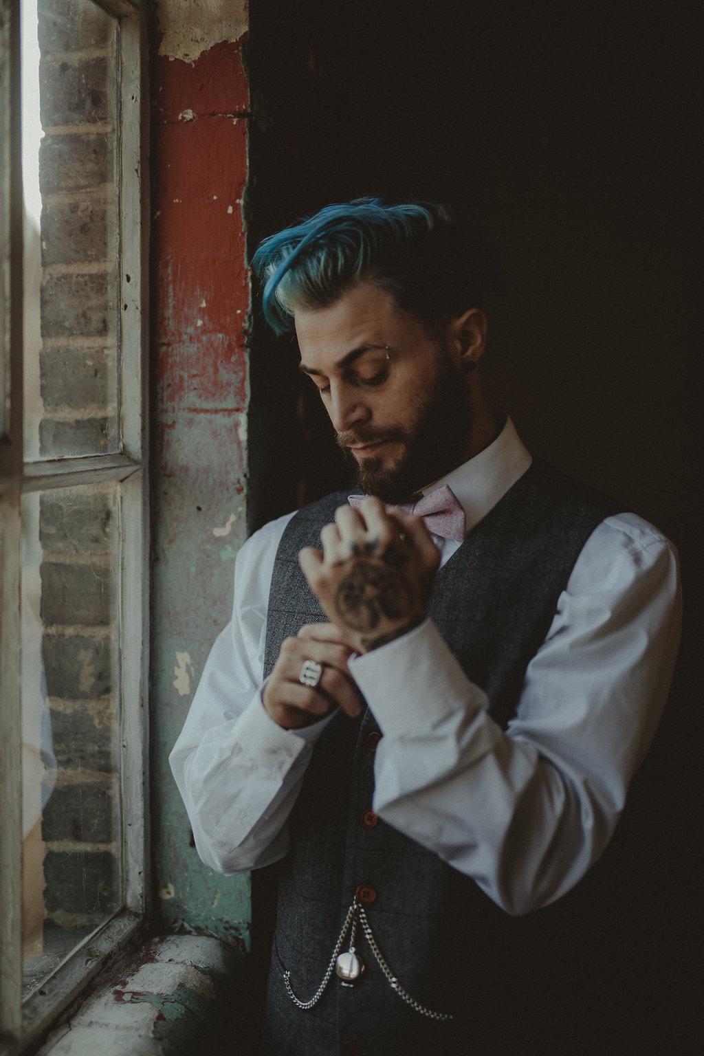 Studio Fotografico Bacci - Steampunk wedding - alternative wedding 46